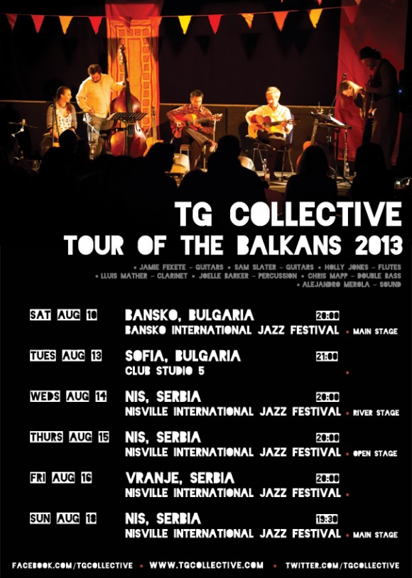 TG Collective Bulgaria Serbia Balkan Tour